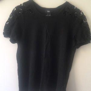 Paige linen lace T-shirt